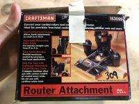 Craftsman Router Attachment