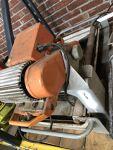 Large wet tile saw