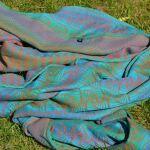 Woven wrap - Firespiral, Size 4