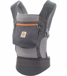 Ergo Classic, grey orange, mesh