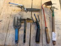 Set d'outils à main de jardinage