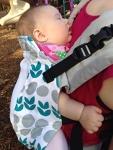 Kinderpack Infant- PLUS straps, PFAs