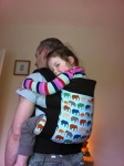 Tula Toddler Carrier - Urban Elephants