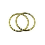 Sling Rings Large Gold