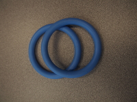 Sling Rings Medium Blue Nylon Rings