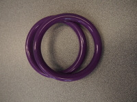 Sling Rings Large Purple Nylon Rings