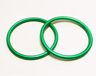 Sling Rings Large Green