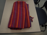 Hip Baby Wrap Red Stripes