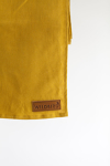 WildBird Meadowlark Mustard Linen Gathered Ring Sling