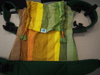 Soul Toddler Full Buckle Green/Rainbow SSC