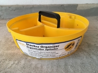 Bucket top organizer