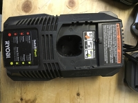 Ryobi One+ Battery Charger