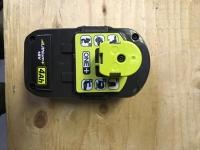 Ryobi One+ 18v 4.0Ah battery