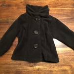 2T black fleece jacket