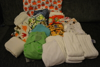 Nappies Kit 07 (Foxes) Birth to Potty