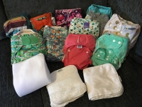 All In One Nappies Kit 01 Birth to Potty