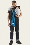 Je Porte Mon Bebe Dark Blue stretchy Ring Sling