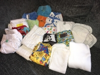 Nappies Kit 06 (Night Owls & Safari Key Riing) Birth to Potty
