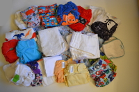 Nappies Kit 08 (Aircraft) Birth to Potty