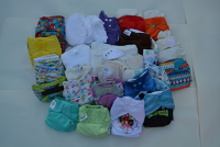 Nappies Antrim and Newtownabbey (Green KR) Birth to Potty Kit 3