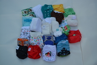 Nappies Antrim and Newtownabbey (Red KR) Birth to Potty Kit 5