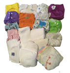 Nappies Kit 14 Birth to Potty Jungle Dino