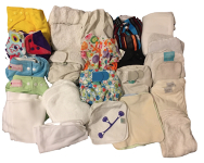 Nappies kit 24 Orange Forest Friends Birth to Potty