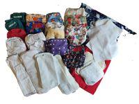 Nappies kit 31 Birth to Potty Enniskillen Navy Background & Unicorns