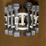 4-SPECIAL INVENTORY - Dumbbell Set