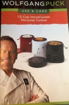 Wolfgang Puck Rice Cooker Manual